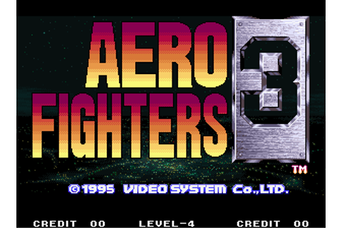 Aero Fighters 3 (Arcade) - The Cutting Room Floor