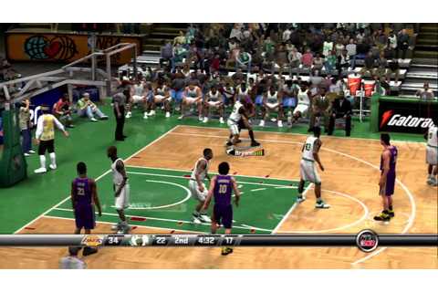 NBA 2K8 - Lakers vs Celtics - YouTube