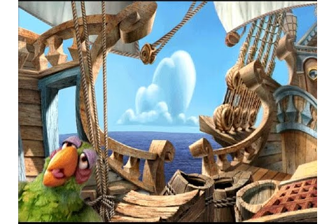 Muppet Treasure Island (PC) game - Scene 3, The Hispaniola ...