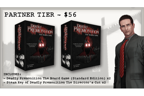 The Deadly Premonition Board Game Kickstarter is LIVE ...