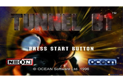 Tunnel B1 gameplay (PC Game, 1996) - YouTube