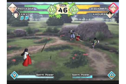 Inuyasha: Feudal Combat Game Sample - Playstation 2 - YouTube