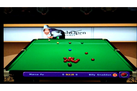 World Championship Snooker 2003 Playstation 2 Gameplay ...