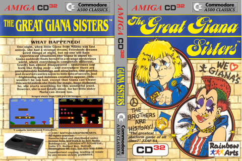 Indie Retro News: The Great Giana Sisters - Controversial ...
