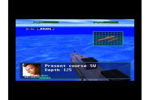 Submarine Commander Playstation Playthrough: Stage 13 ...