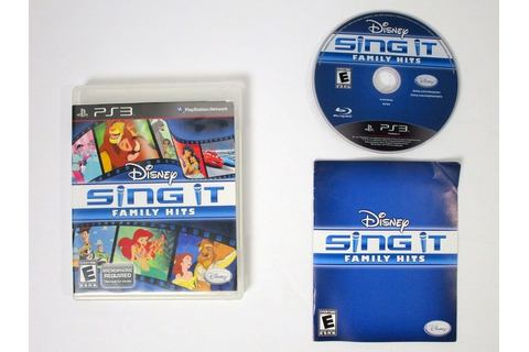 Disney Sing It: Family Hits game for Playstation 3 ...