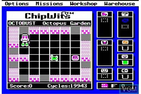 Chipwits for Apple II - The Video Games Museum