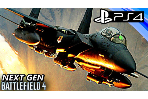 PS4 Battlefield 4 (BF4) AIR SUPERIORITY Gameplay ...