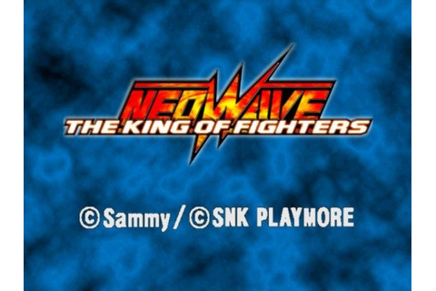The King of Fighters Neowave (2005) by SNK PS2 game