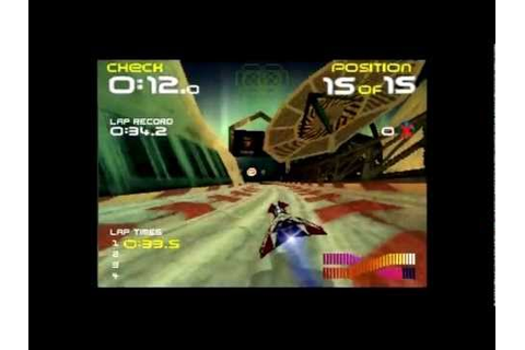 Wipeout 64 [Nintendo 64] -- Nice and Games - YouTube