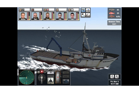 Deadliest Catch : Alaskan Storm Gameplay (PC) - YouTube