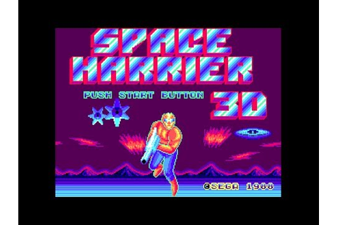 (Real 3D) Space Harrier 3-D - Master System Longplay (FM ...