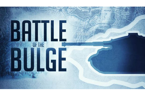 Battle of the Bulge - PC Review | Chalgyr's Game Room