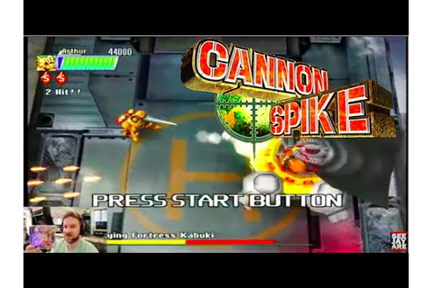 Cannon Spike - Gameplay - Dreamcast HD - YouTube