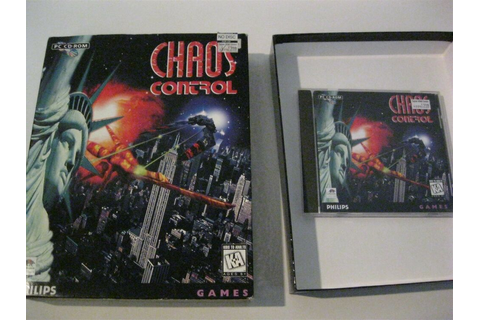 Chaos Control PC game complete CD-ROM Interactive Media | eBay