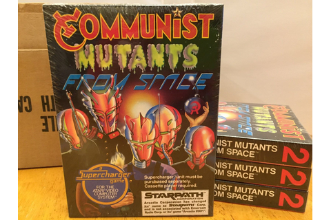 Atari 2600 VCS Communist Mutants from Space : scans, dump ...