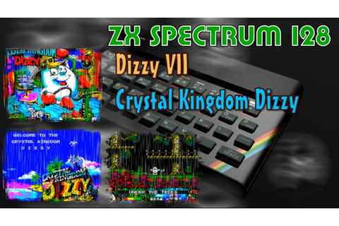 ZX Spectrum new game -=Dizzy VII - Crystal Kingdom Dizzy ...