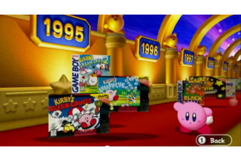 Kirby's Dream Collection Special Edition Wii 20th ...