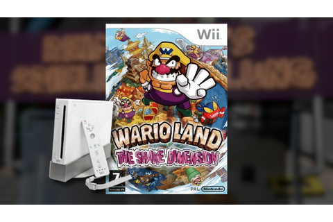 Gameplay : Wario Land The Shake Dimension [WII] - YouTube