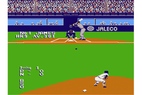 Bases Loaded II: Second Season - Nintendo NES - Games Database