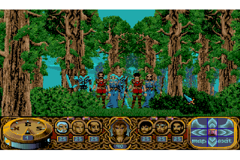 Crystals Of Arborea : The Company - Classic Amiga Games