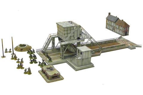 A malema of Benouville Bridges – Meeples & Miniatures