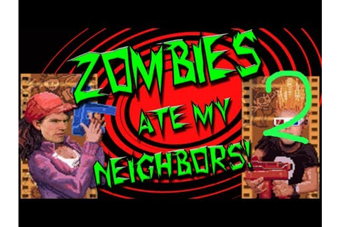 BizarrelyFunny Games - Zombies Ate My Neighbors Part 2 ...