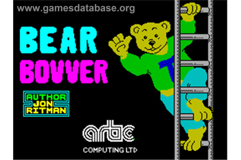 Bear Bovver - Sinclair ZX Spectrum - Games Database