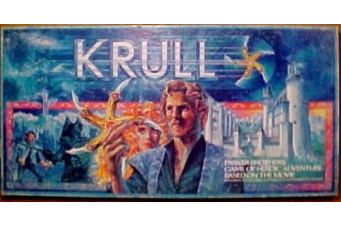 Fantasy Toy Soldiers: PARKER BROTHERS: Krull Board Game