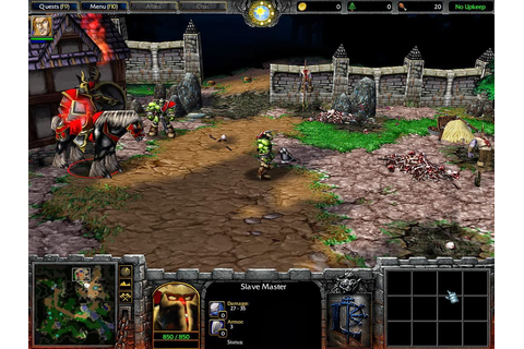 Warcraft III Reign of Chaos PC Game free Download full ...