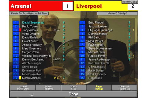 Championship Manager: Season 97/98 Download Game ...