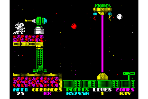 My all time favourite video games: Exolon - Sinclair ...