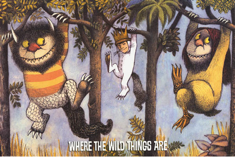 Where the Wild Things Are Tree Hang Poster 24x36 – BananaRoad