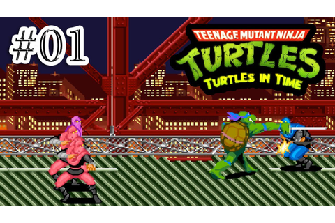 Teenage Mutant Ninja Turtles 4 - Turtles in Time (SNES ...