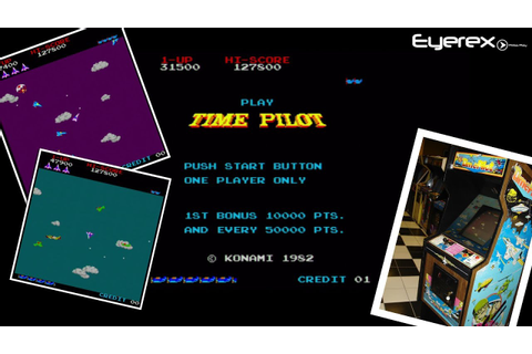 Time Pilot Arcade Game - YouTube