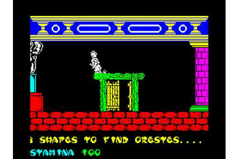 Gift from the Gods Walkthrough, ZX Spectrum - YouTube