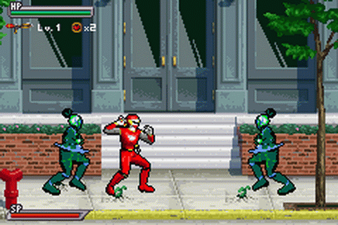 Play Power Rangers - Ninja Storm Nintendo Game Boy Advance ...