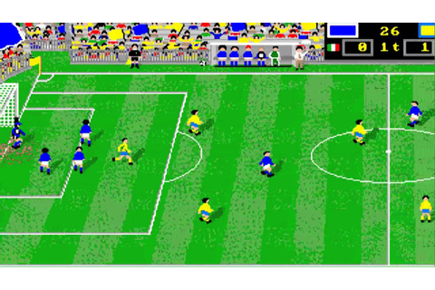 AMIGA Italy Soccer '90 ITALY '90 SOCCER OTHER GAME OCS ...