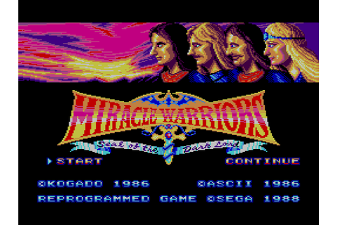 Inconsolable: [Game 016] Miracle Warriors: Seal of the ...