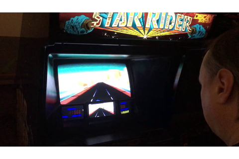 Star Rider Arcade Game! - YouTube