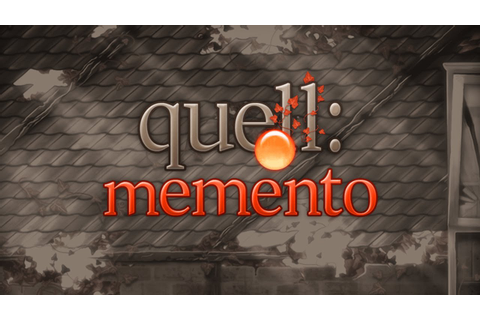 Quell Memento - Universal - HD Gameplay Trailer - YouTube