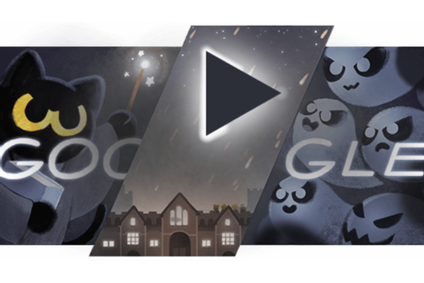 Halloween Google Doodle treats searchers to Magic Cat ...