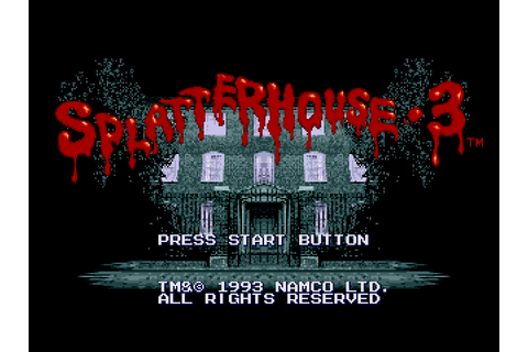 Splatterhouse 3 (USA) ROM