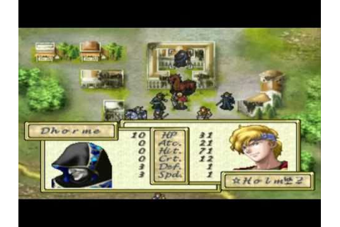 TearRing Saga (PSX) - Team Holmes vs. Dark Mage Dhorme and ...