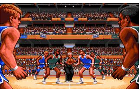 TV Sports Basketball Download (1990 Amiga Game)