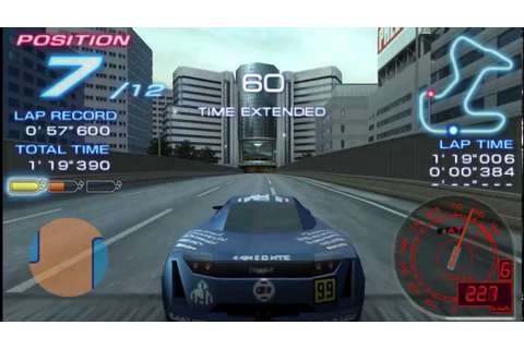 [PSP] Ridge Racer 2 gameplay compilation(PPSSPP/HD) - YouTube