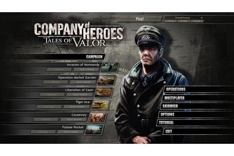 Company of Heroes: Tales of Valor | WSGF