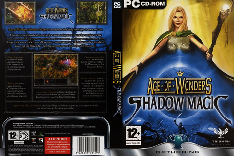 Age Of Wonders – Shadow Magic | Capas e Covers Gratis.