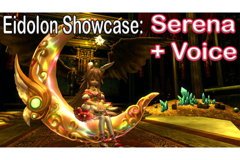 Eidolon Showcase: Serena + Japanese voice | Aura Kingdom ...