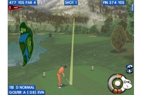 Actua Golf 2 (1998) by Gremlin Windows game